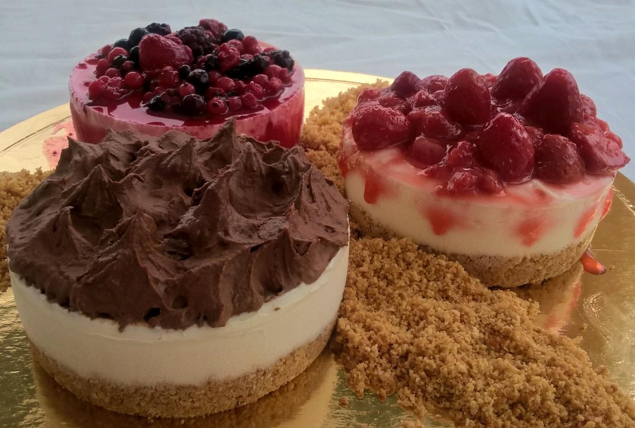 Cheesecake 3 estações